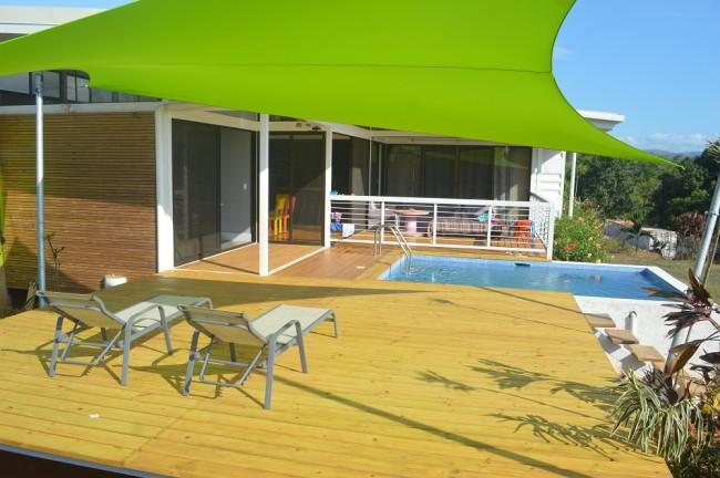La Virgen home with pool