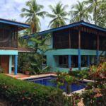 Beach front home in Zancudo